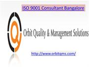 ISO 9001 Consultant Bangalore