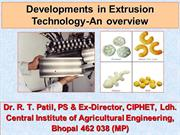 Extrusion Overview