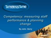 Using Competency in Organisational Development