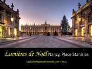 134 Nancy, France Light of Christmas  by Pascal Mary