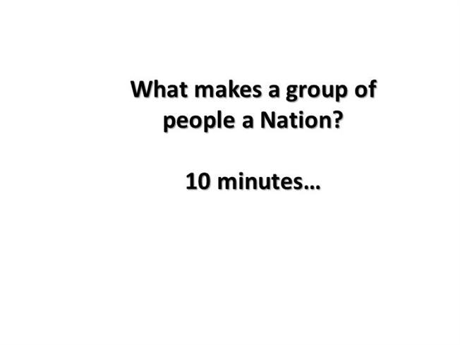 what makes a nation