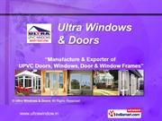 Ultra Windows and Doors Tamil Nadu India
