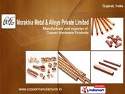 Morakhia Metal & Alloys Private Limited Gujarat India