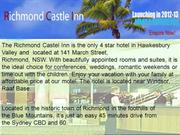 Richmond Castle Inn, Richmond, NSW Australia