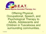 Bama Equine Assisted Therapy BEAT