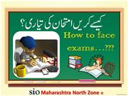 How to face exam