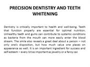 woodland hills dentist - PRECISION DENTISTRY AND TEETH WHITENING