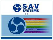 CHP Units from SAV Systems