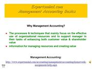Management Accounting Basics Assignments Help, ExpertsMind.com