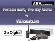 Portable Radio, Two Way Radios