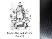Cronus The God of Time