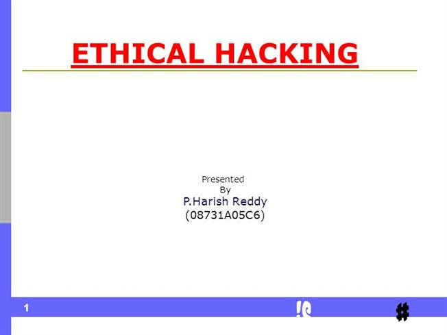 Ethical Hacking And Countermeasures Pdf