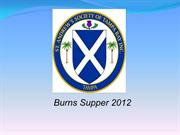 Burns Night Presentation