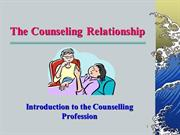 Counseling-principles