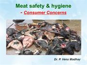 Meat safety and hygiene - Consumer concerns