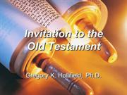 Invitation to the Old Testament 01: Introduction