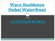 Wave Residence Dubai Waterfront