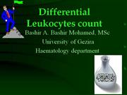 Differential leukocytes count