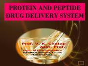 PROTEIN AND PEPTIDE DRUG DELIVERY-SEMINAR-97-2003-final2