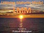 Learning Maturity Model (Prakash Bebington)
