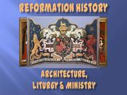 Architecture, Liturgy and Ministry