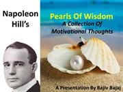 Napoleon Hill's Pearls Of Wisdom