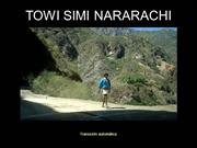 Towi simi Nararachi Mxico Cancin Tarahumara