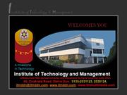 Institute of Technology and Management DehraDun