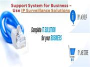Support System for Business – Use IP Surveillance Solutions- swiftcomp