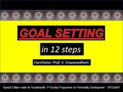 2012Jan01 - Goal Setting in 12 Steps