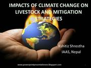 climate change live stock