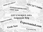 java assignment help, Java homework Help, expertsmind.com