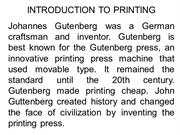PRINT INDUSTRY WIT EXAMPLE