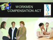 workmen compensation act