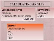 Y7MA4_Calculating angles_11_01_2012