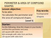Y8MA3G_Perimeter and Area Compound Shapes_12_01_2012
