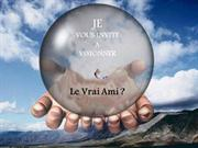 140 Le vrai ami -  FRENCH - (the true friend )- by author uncknow