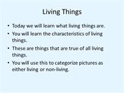 Char of Living Things notes