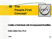 People First Web Lecture