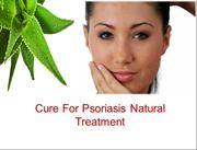 Cure For Psoriasis Natural Treatment