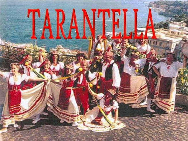 tarantella tarantism in italian society essay Association has indicated that the earliest known reference to music therapy appeared in 1789 in an article titled to the treatment of tarantism, a disorder that was thought to be caused by the bite of a tarantula spider [11] kramer's [ 20] essay on soul music in german psychiatry recounts 'illenau', a nineteenth century.