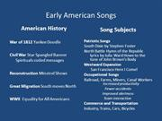 Early_American_Songs