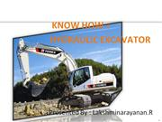 KNOWHOW_HYDRAULIC EXCAVATOR