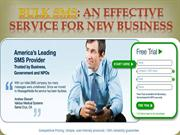 Bulk SMS An Effective Service for New Business- message-media.com