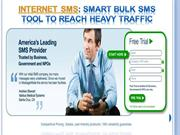 Internet SMS Smart Bulk SMS tool to Reach Heavy Traffic- message-media
