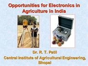 Electronics in Agriculture