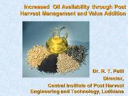Oilseeds Processing