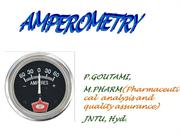 AMPEROMETRY ppt