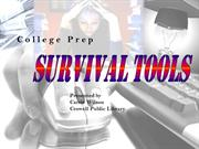 Presentation_CollegeSurvivalTools_Jan_25_2012