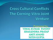 cross culture conflicts the corning-vitro joint venture